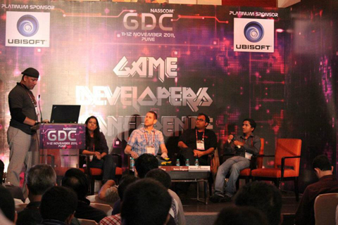 Flash vs Unity vs HTML5 Panel at Nasscom GDC